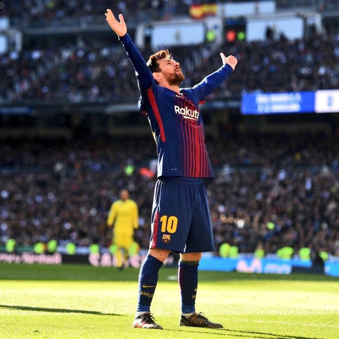 Messi-Clasico Celebration 2